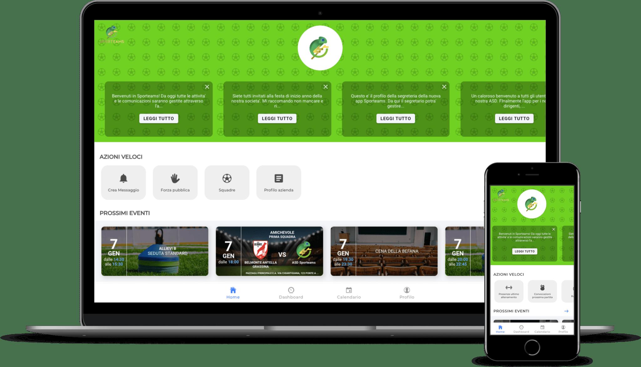 Sporteams App